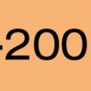 Bombe de peinture acrylique Flame Orange 400ml FO-200-Pêche
