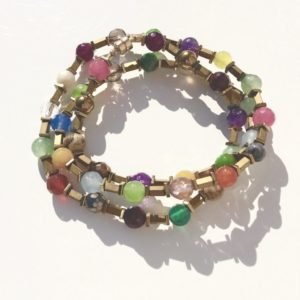 Bracelet triple ou Collier fermoir aimant Fermoir Bijoux Atelier114 Toulouse