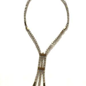 Collier Cristal de Roche Fermoir aimant Bijoux Atelier114 Toulouse