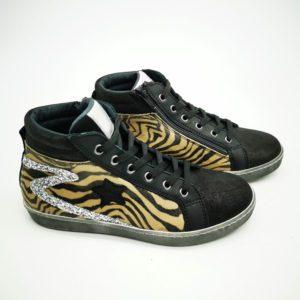 Chaussures Semerdjian Requins Sally glilter léopard (1)