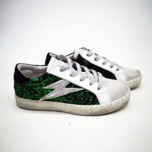 Chaussures Semerdjian smr 23 Eloise 04 Glilter vert