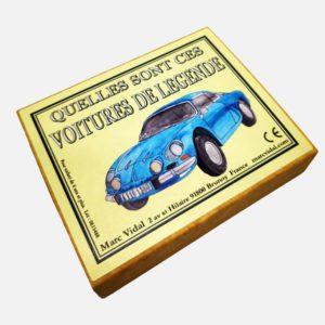 voitures légendes Marc Vidal