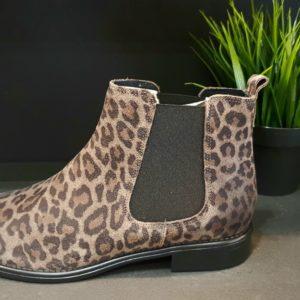 WE DO CouleurFANGO LEOPARD ChaussuresBOOTS ref 77545