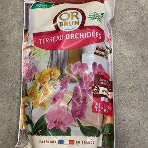 Terreau orchidée 4 l Or brun TOULOUSE