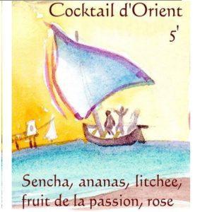 Thé cocktail d'orient