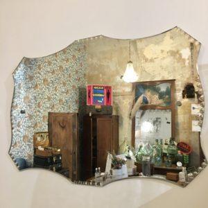 Miroir rectangulaire biseauté