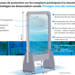 ECRAN DE PROTECTION VIRALPROTECT