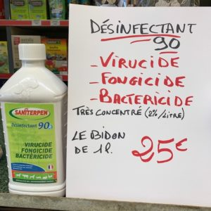 virucide Bactericide fongicide TOULOUSE