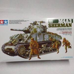 TANK SHERMAN M4A3
