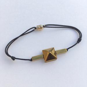 5866 Bijoux Bracelet Réglable Hématite Atelier 114 Toulouse
