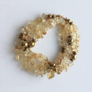 5927 Bijoux Bracelet triple fermoir aimant ou Collier Atelier 114 Toulouse