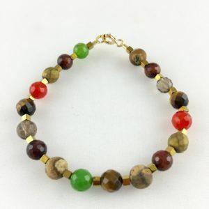 Bracelet Agate Hématite