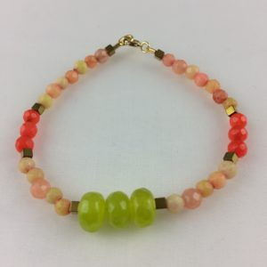 Bracelet Jade Vert Agate