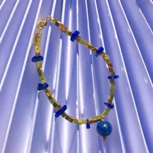 Lapis-lazuli Hématite