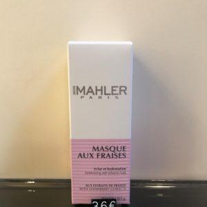 Masques aux fraise éclat et hydration 50ml Simone Mahler