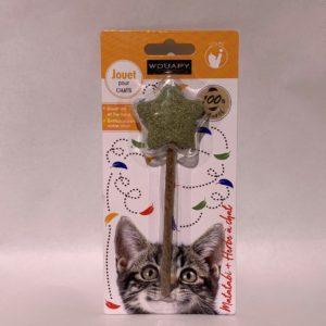 Wouapy jouet chat matabi + herbe chat etoile