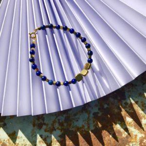 Bracelet Lapis-Lazuli Hématite