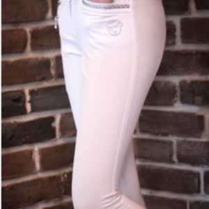 Marie Pantalon équitation blanc fille Jump in