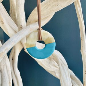 Pendentifs Berthe - turquoise