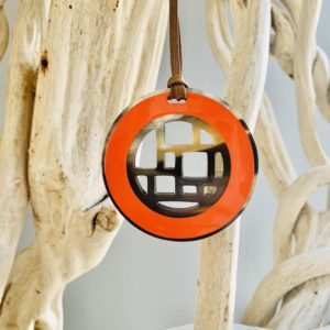 Pendentifs Jeanne - orange