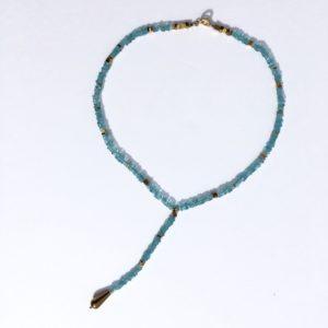 #Atelier114#bijoux#collier#apatite#hématite #bijouxcreateur#Toulouse#France