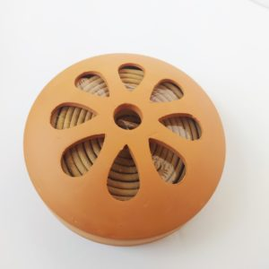 10 Spirales citronnelle dans une terre cuite