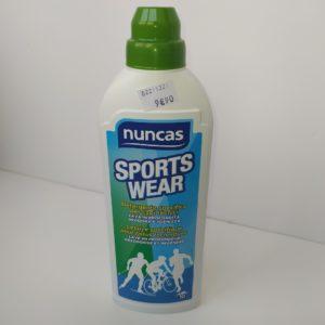 Sport wear lessive pour tissus techniques Nuncas